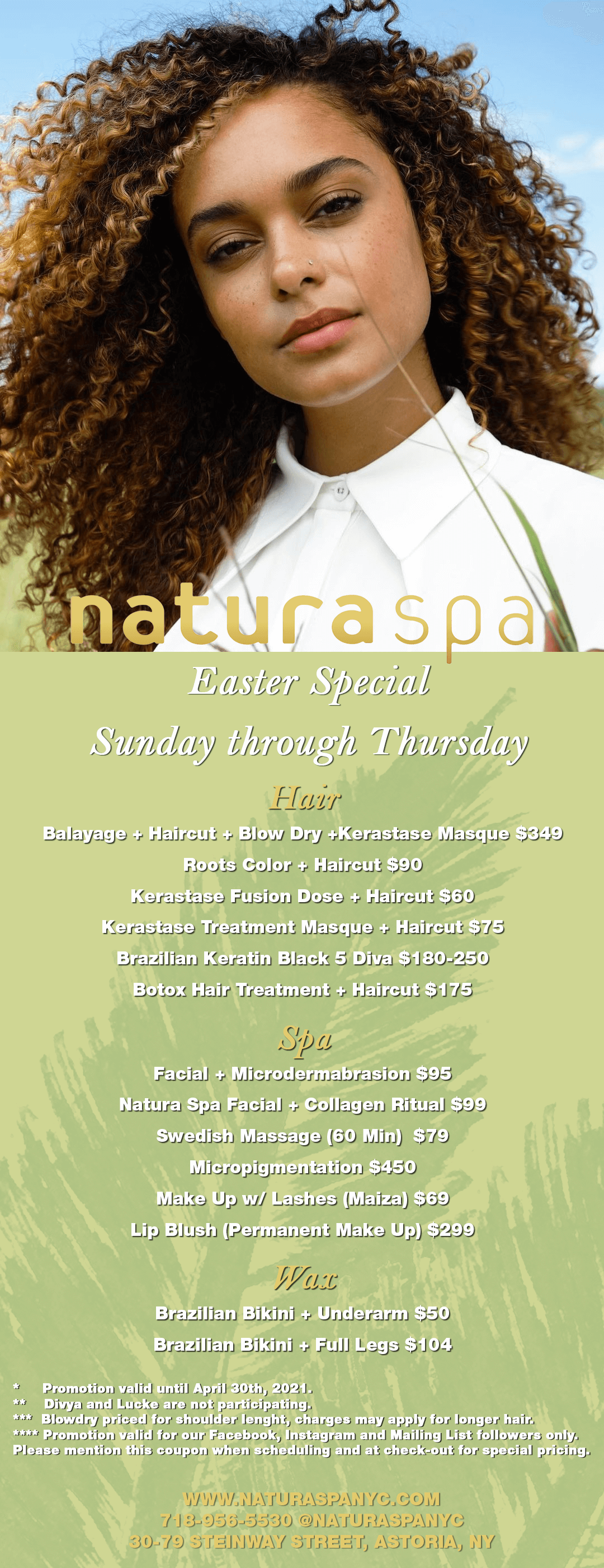 Natura Spa Easter Special